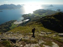 Wanderung auf den Meløytinden
